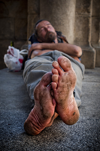 homeless-artist-reclining